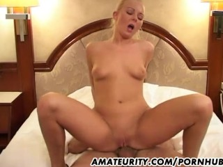 Amateur Girlfriend Anal With Big Facial Cum-Shot