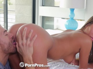 PORNPROS Spontaneous Fuck And Facial With Brunette Jill Kassidy