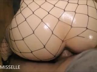 LittleMissElle Banged In Fishnets Facial Psy-Faerie