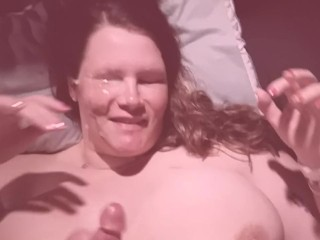 Michele Hartranft Look-alike Titfuck And Facial