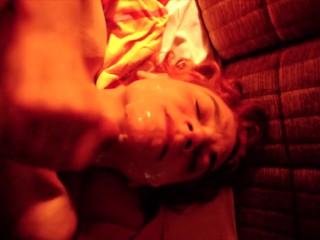 Claudia Red Light Facial With Lot Of Spunk