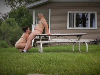 Outdoor Recreation – Missy Works Hubby's Tool For A Massive Facial