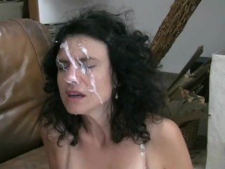 Facial For An Obedient Whore Wife 1