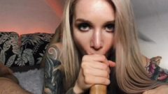 Dirty Blonde Gets Deep Cock And Spunk On Face – RedFox/Red Fox