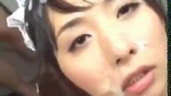 Nippon Nubile Hair & Facial Bukkake