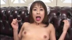 Nippon Au Pair Uses Her Mouth For Cleaning – Nippon Bukkake Orgy