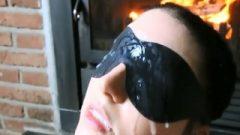 Blindfold Extrem Cum On Face