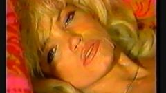 Retro Blond Cum On Face